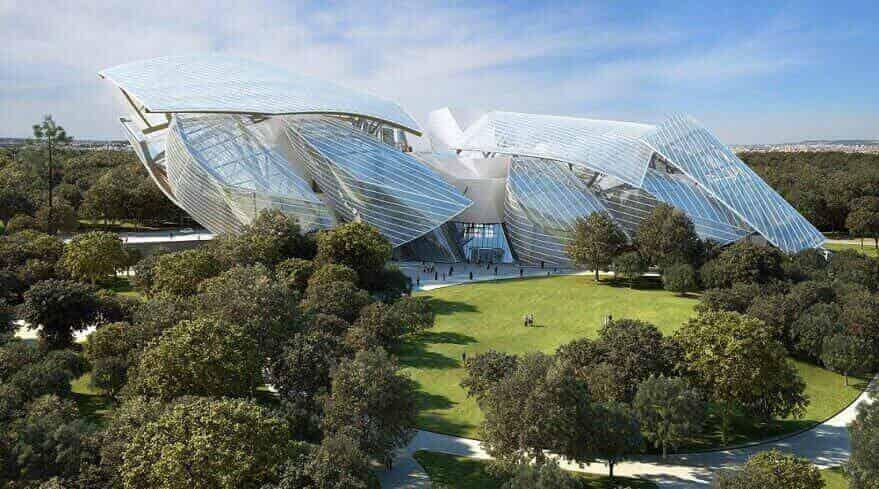 Фонд Louis Vuitton, Париж, Франция