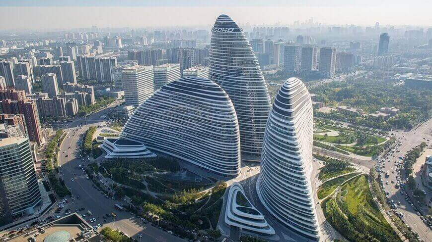 Wangjing Soho, Пекин, Китай